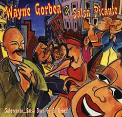 CD-Cover: Saboreando...Salsa Dura en el Bronx