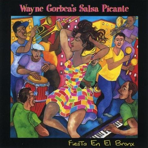 CD-Cover: Fiesta en el Bronx