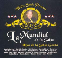 CD-Cover: La Mundial De La Salsa