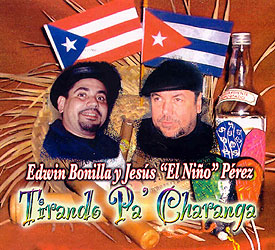 CD-Cover: Tirando Pa Charanga