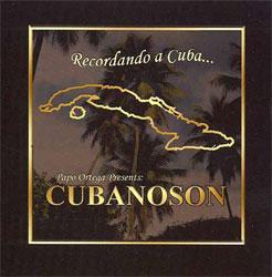 CD-Cover: Recordando A Cuba