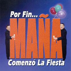 CD-Cover: ¡Por Fin ... Maña! Comenzó La Fiesta