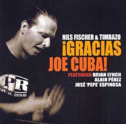 CD-Cover: Gracias Joe Cuba