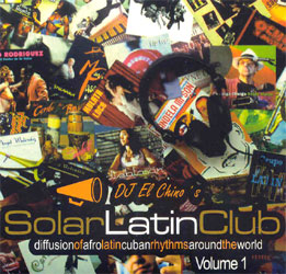 CD-Cover: Diffusion Of AfroCuban Rhythms Around The World