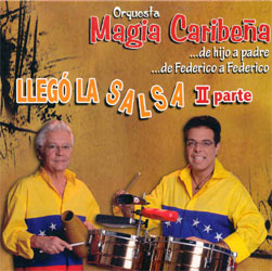 CD-Cover: Llego La Salsa - 2. Parte