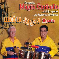 CD-Cover: Llego La Salsa - 2. Parte