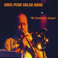CD-Cover: Mi Rumba Te Llama
