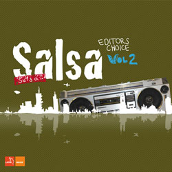 CD-Cover: Salsa Editors Choice Vol.2