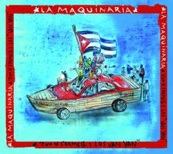 CD-Cover: La Maquinaria