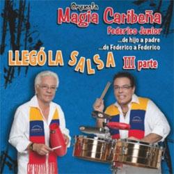 CD-Cover: Llego la Salsa - 3. Parte