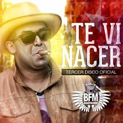 CD-Cover: Te Vi Nacer