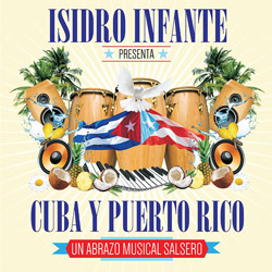 CD-Cover: Cuba y Puerto Rico: Un Abrazo Musical Salsero