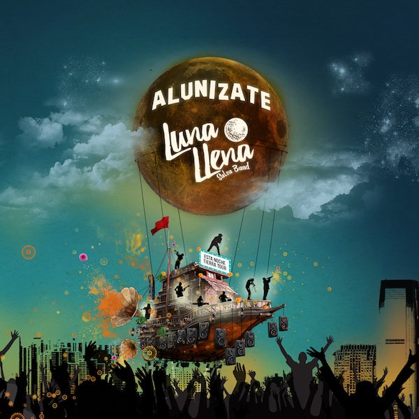 CD-Cover: Alunizate