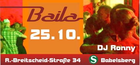 Salsa Party @ Baila Potsdam