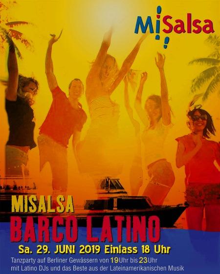 Salsa Schiff: Barco Latino