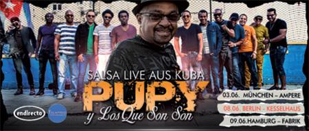 Konzert: Pupy Y Los Que Son Son